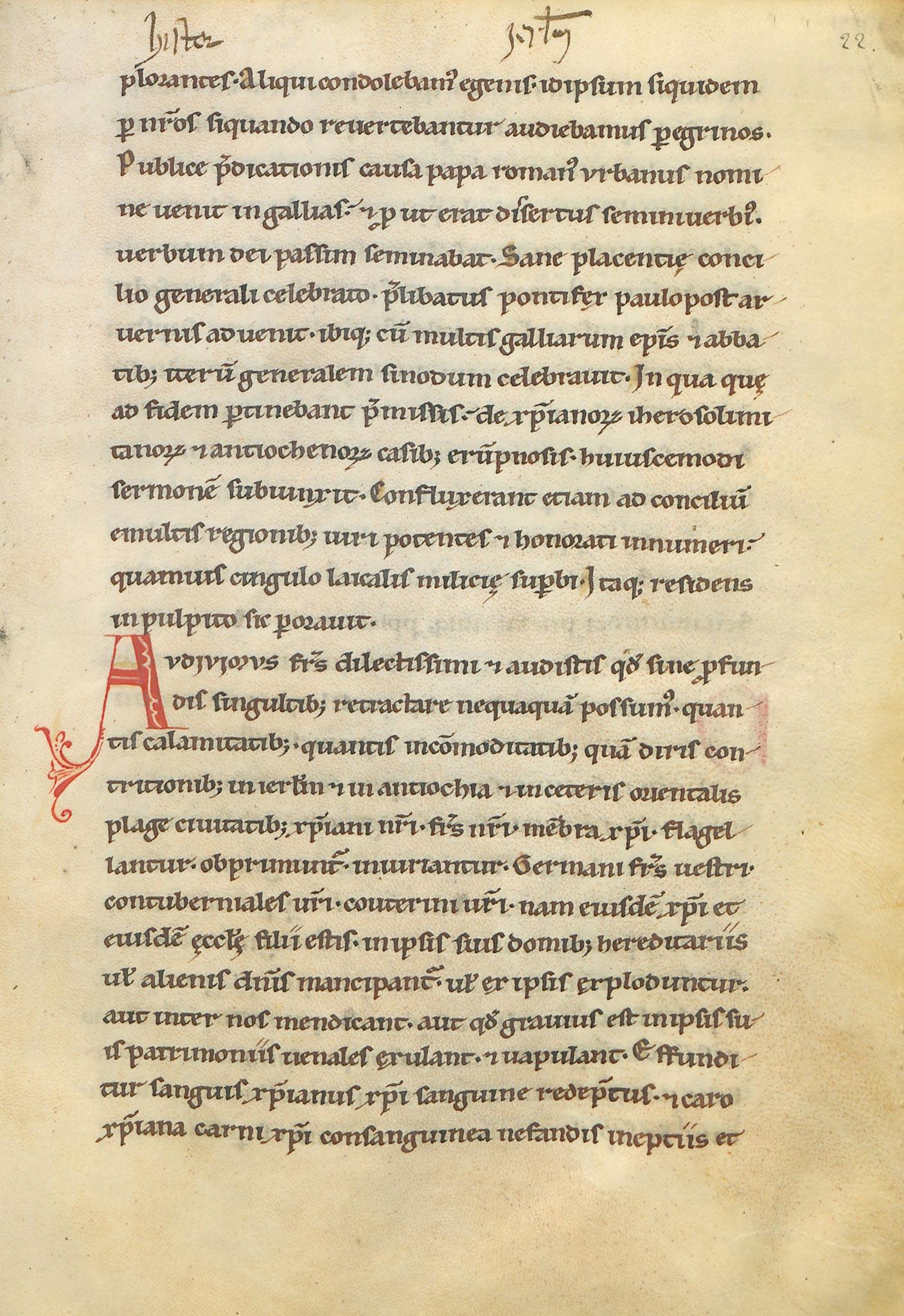 Manuscrit-Historia-Hierosolimitana-22r°
