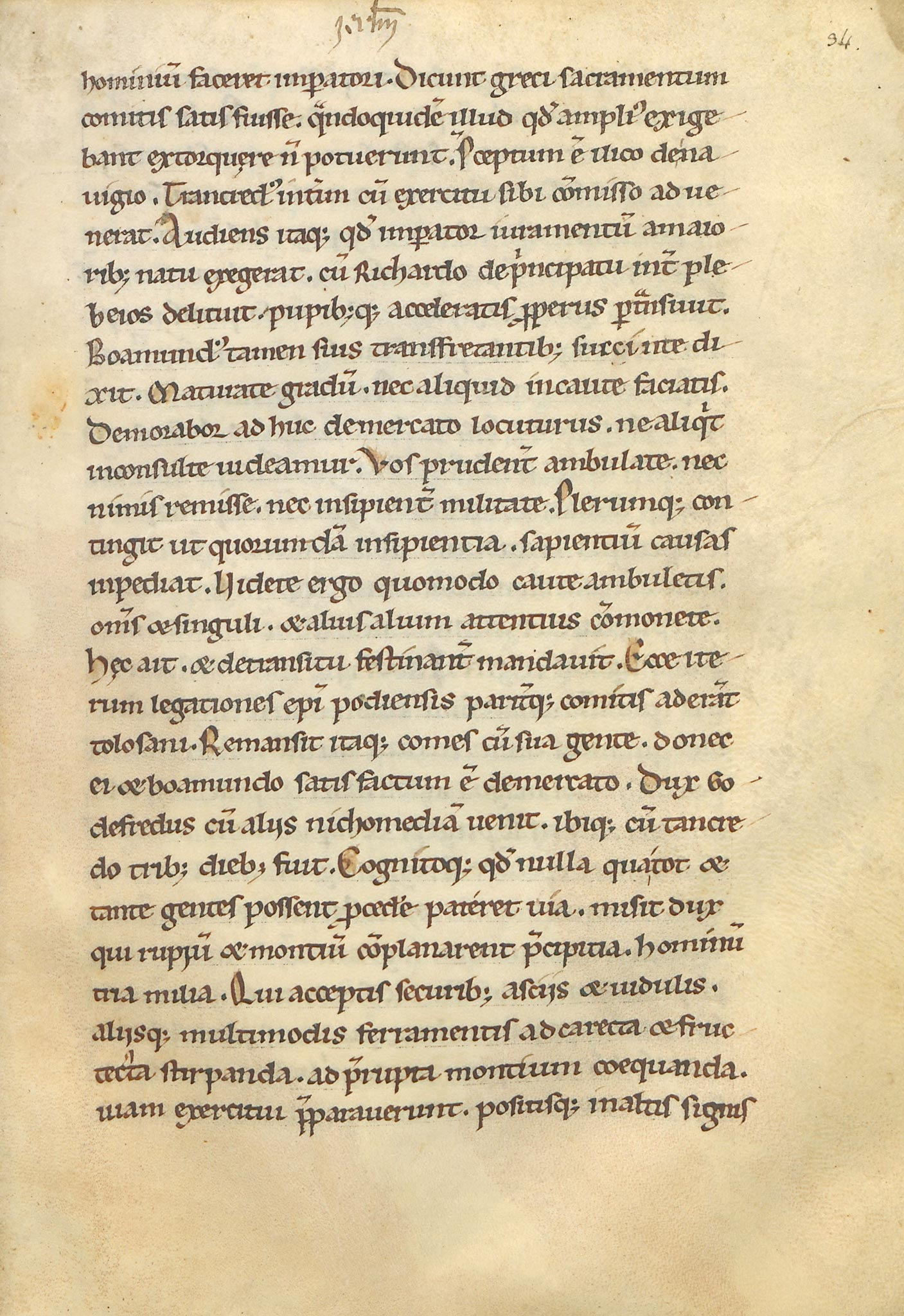 Manuscrit-Historia-Hierosolimitana-34r°