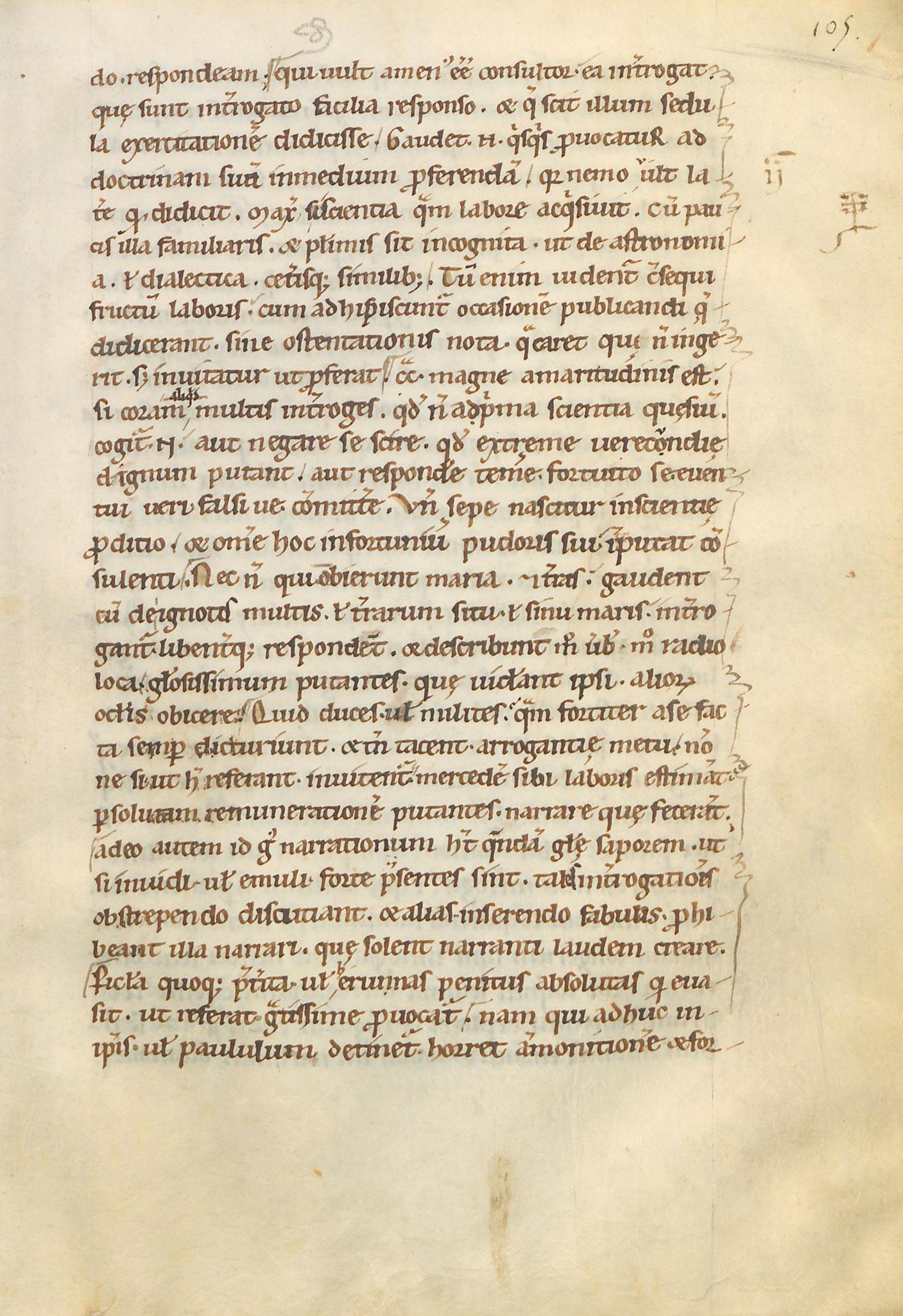 Manuscrit-Saturnales-105r°