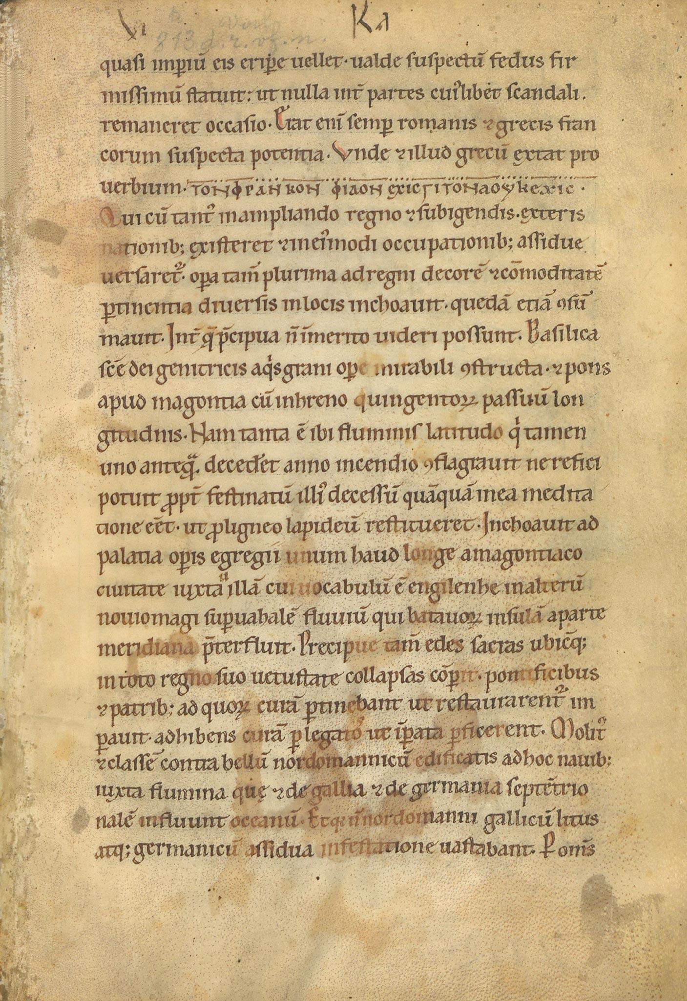 Manuscrit-Vita-Karoli-10r°