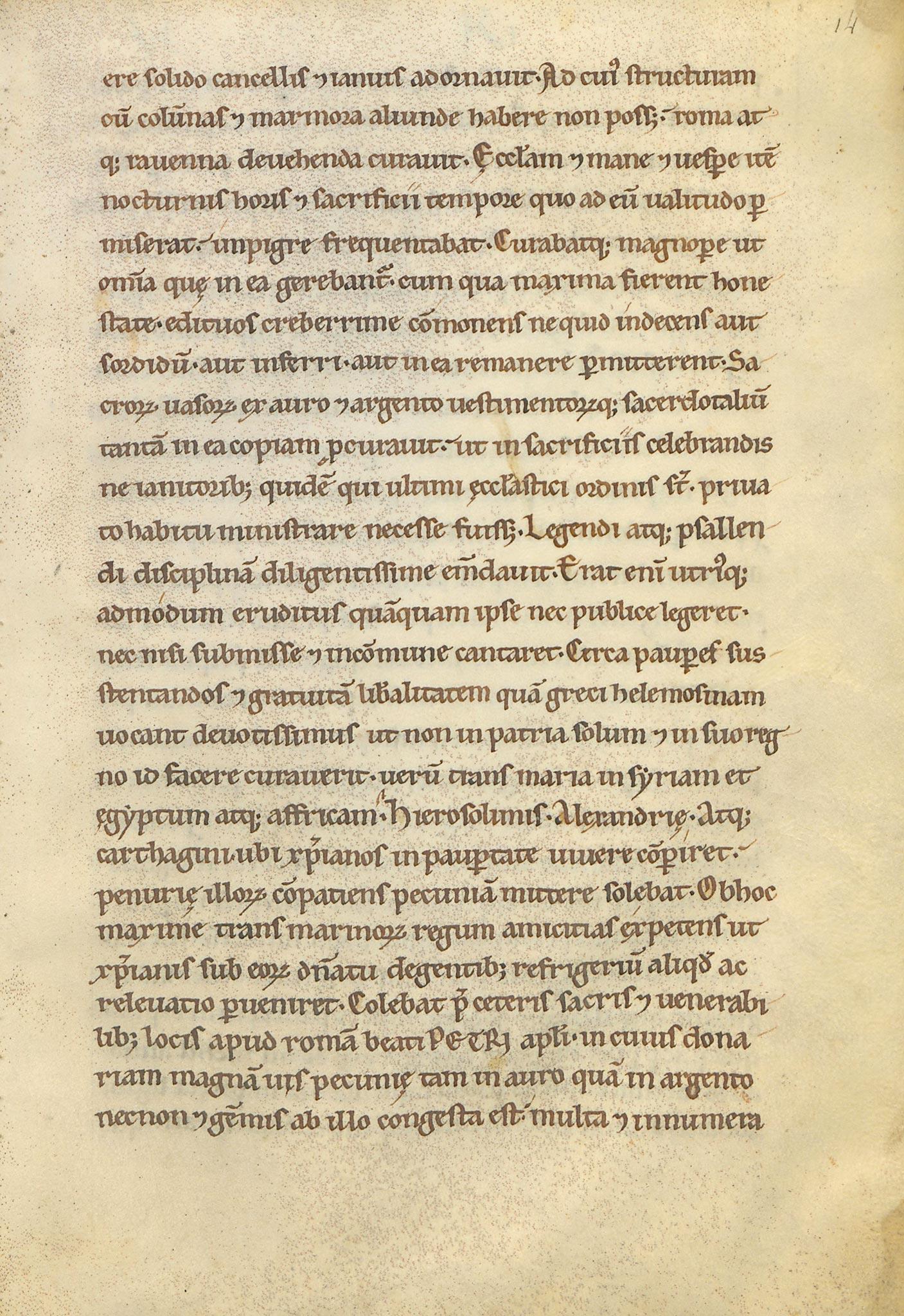 Manuscrit-Vita-Karoli-14r°