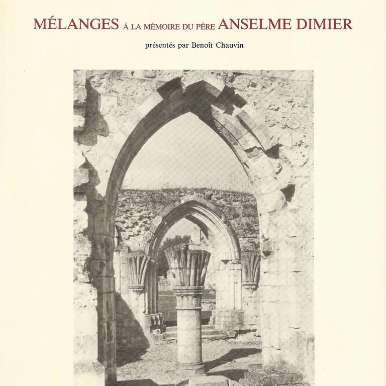Mélanges Anselme Dimier, tome III